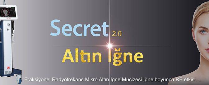 Mikro Altın İğneli Fraksiyonel Radyofrekans (Secret)